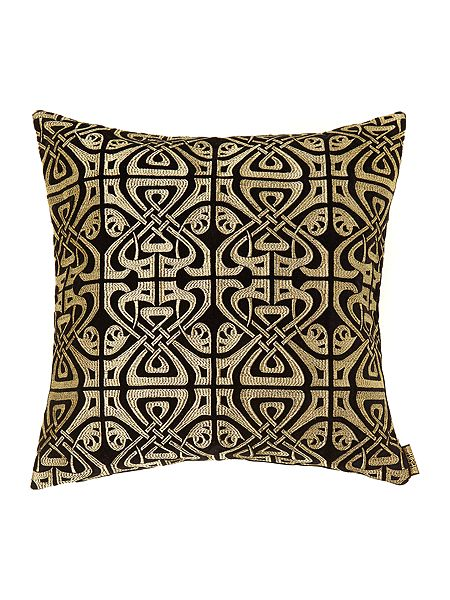 biba black velvet biba design cushion house of fraser. Black Bedroom Furniture Sets. Home Design Ideas