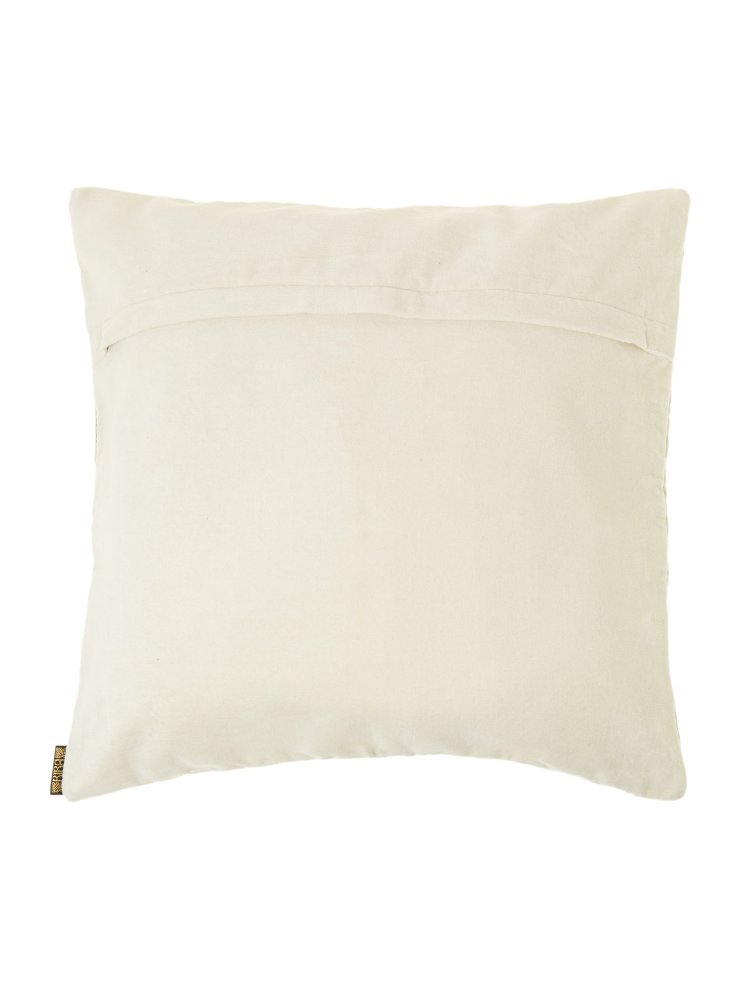 Cream velvet Biba design cushion