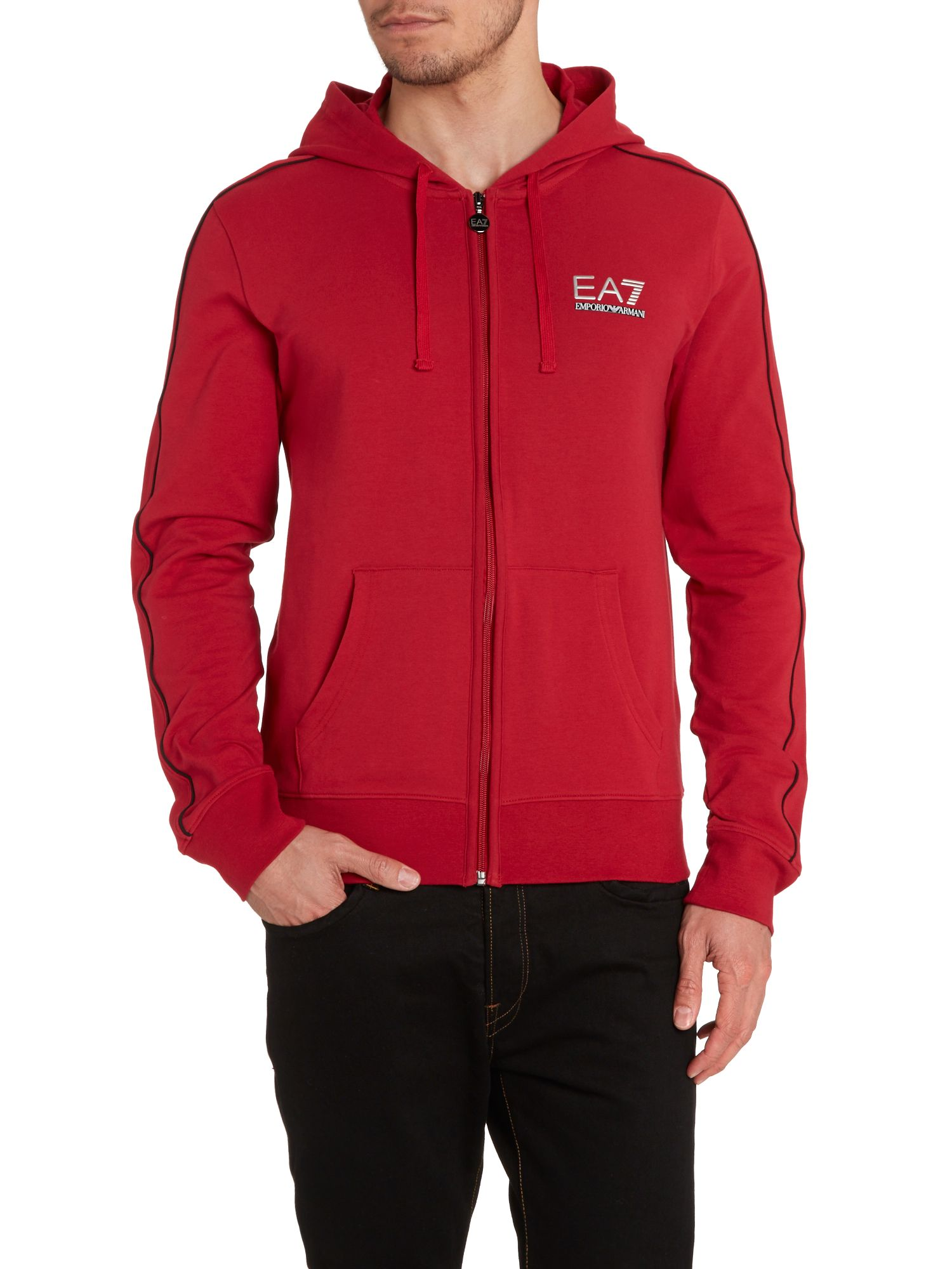 Zip through train evolution hoody