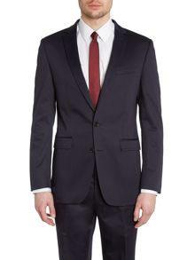 Simon Carter Cotton sateen slim fit jacket