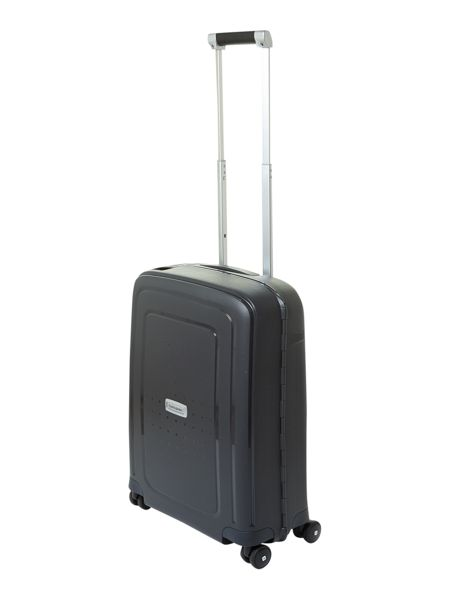 Samsonite S-Cure deluxe black cabin suitcase
