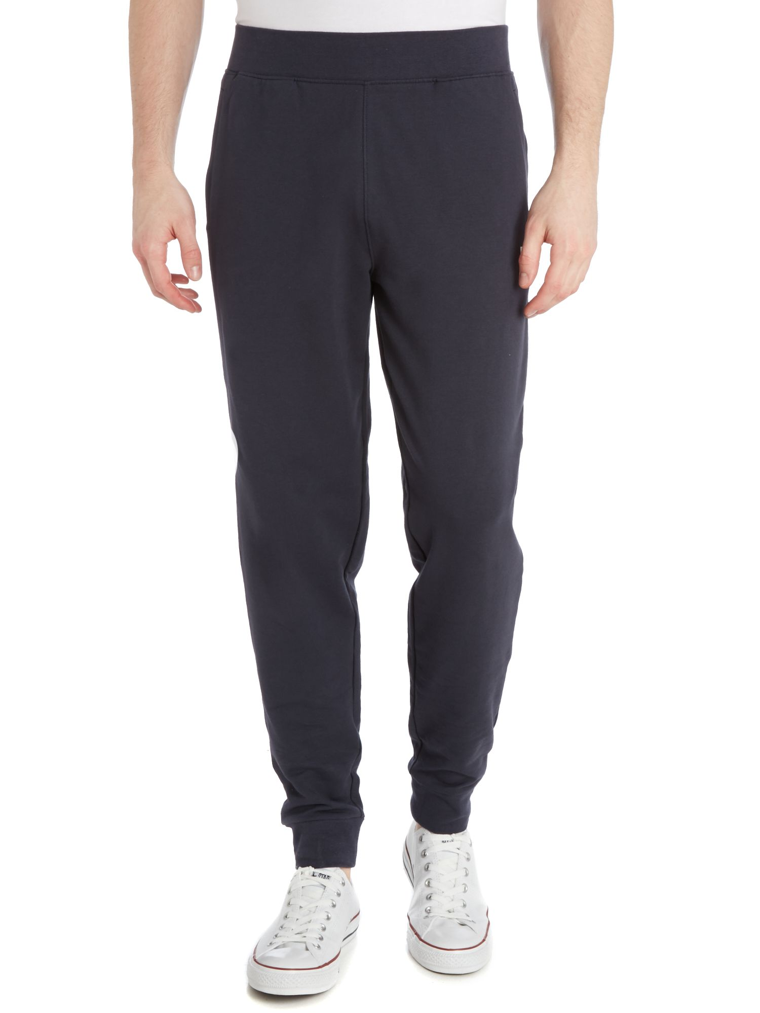 Train evolution small logo cuffed sweat pant