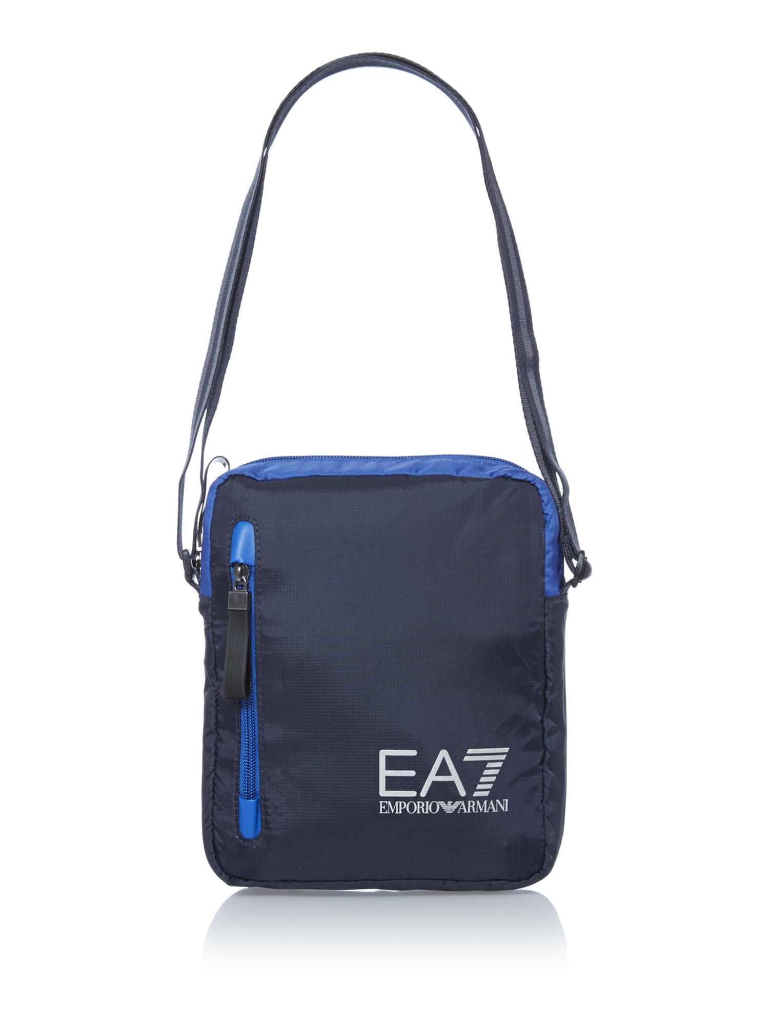 Big logo shoulder flight bag