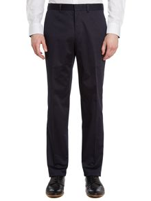 Simon Carter Solid slim fit suit trousers