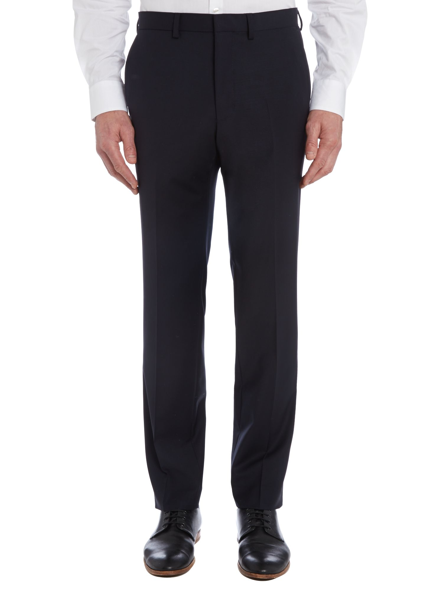 Slim fit dinner suit trousers