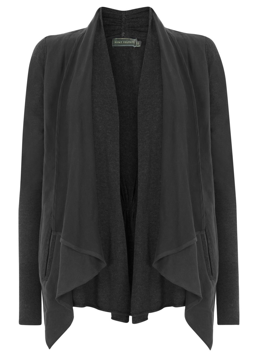 Waterfall front jacket