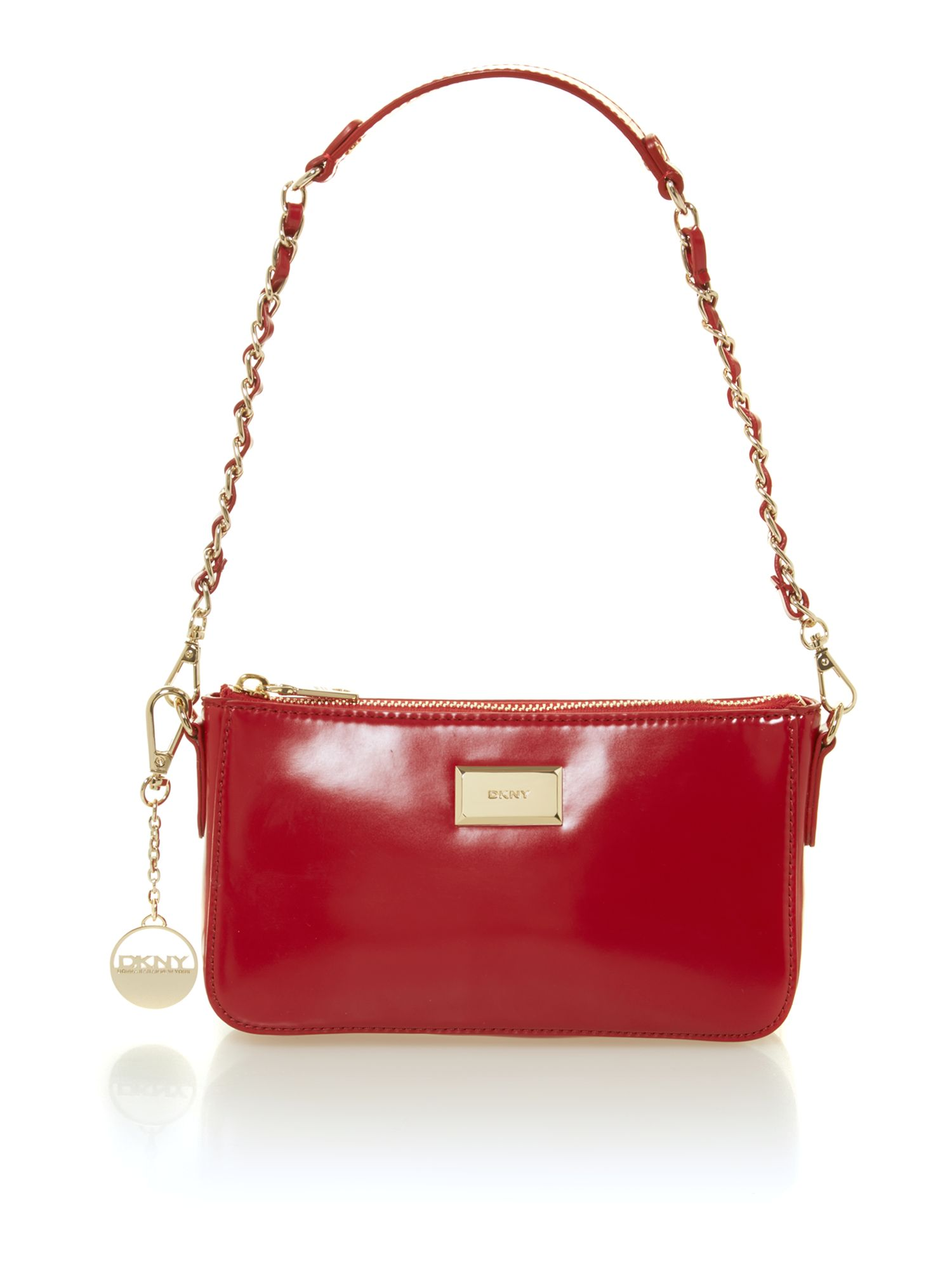 Hudson items red small shoulder bag