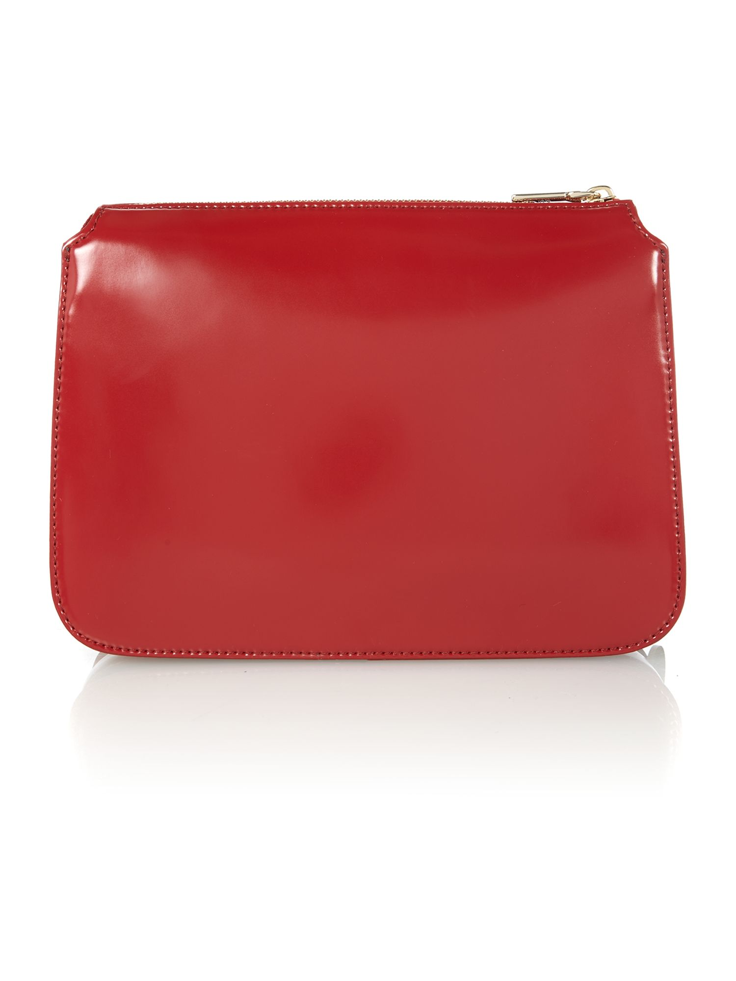 Hudson red crossbody bag