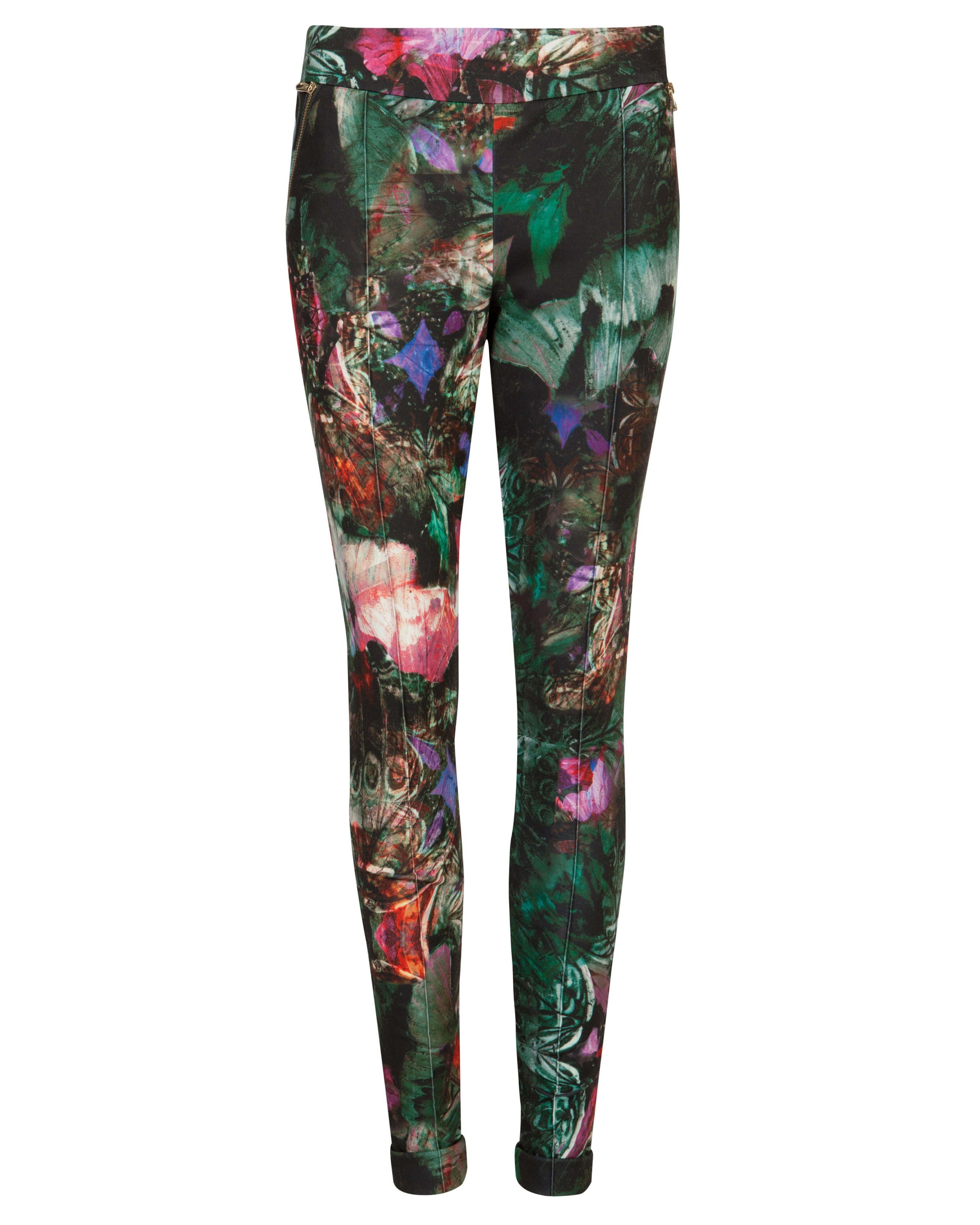Olivie bejeweled wing legging