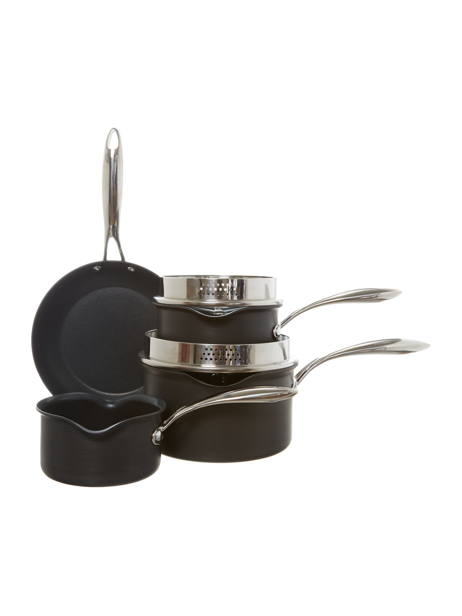 Excellence 4 piece pan set