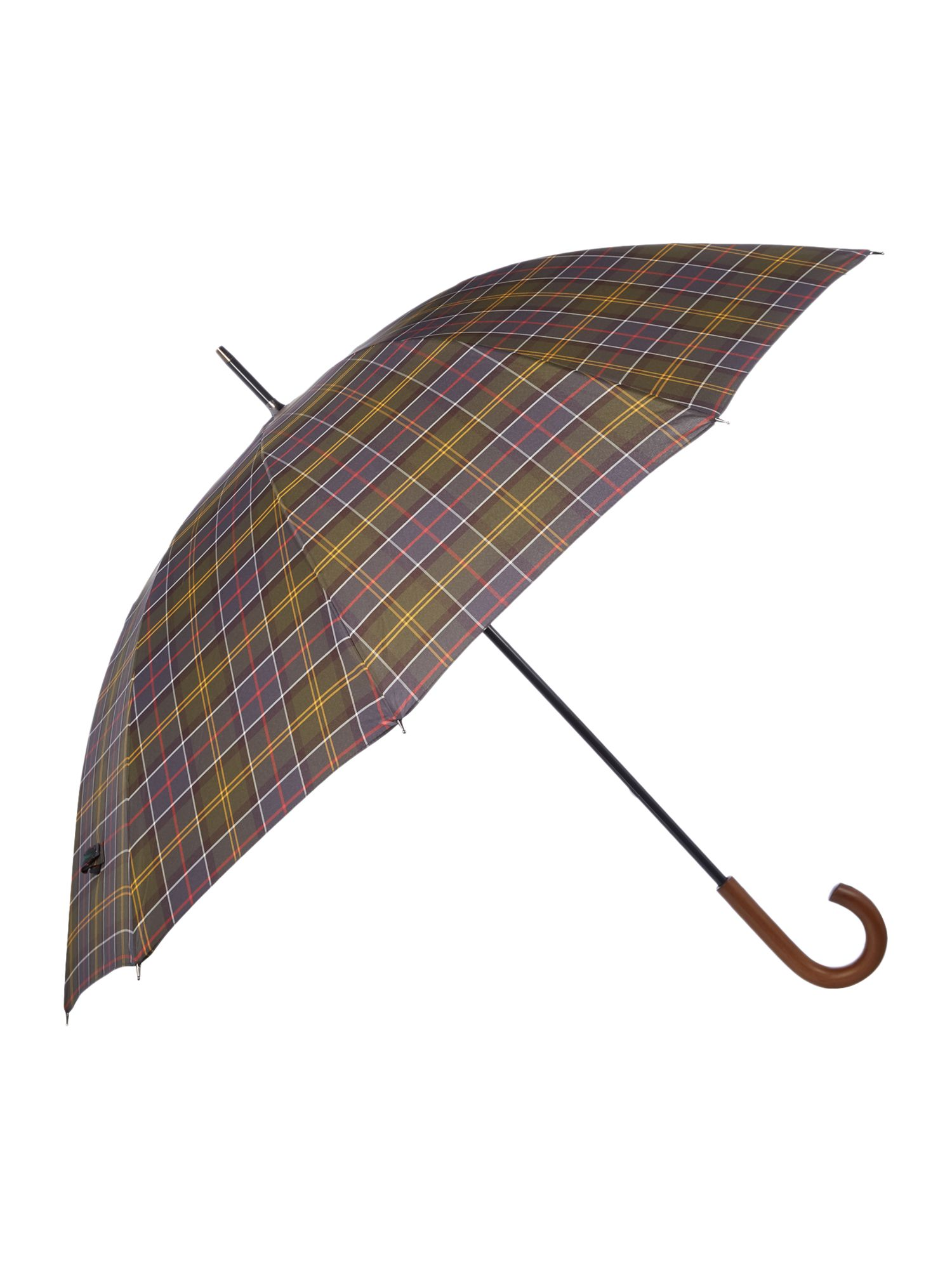 Vintage Style Parasols and Umbrellas Barbour Tartan golf umbrella £40.00 AT vintagedancer.com