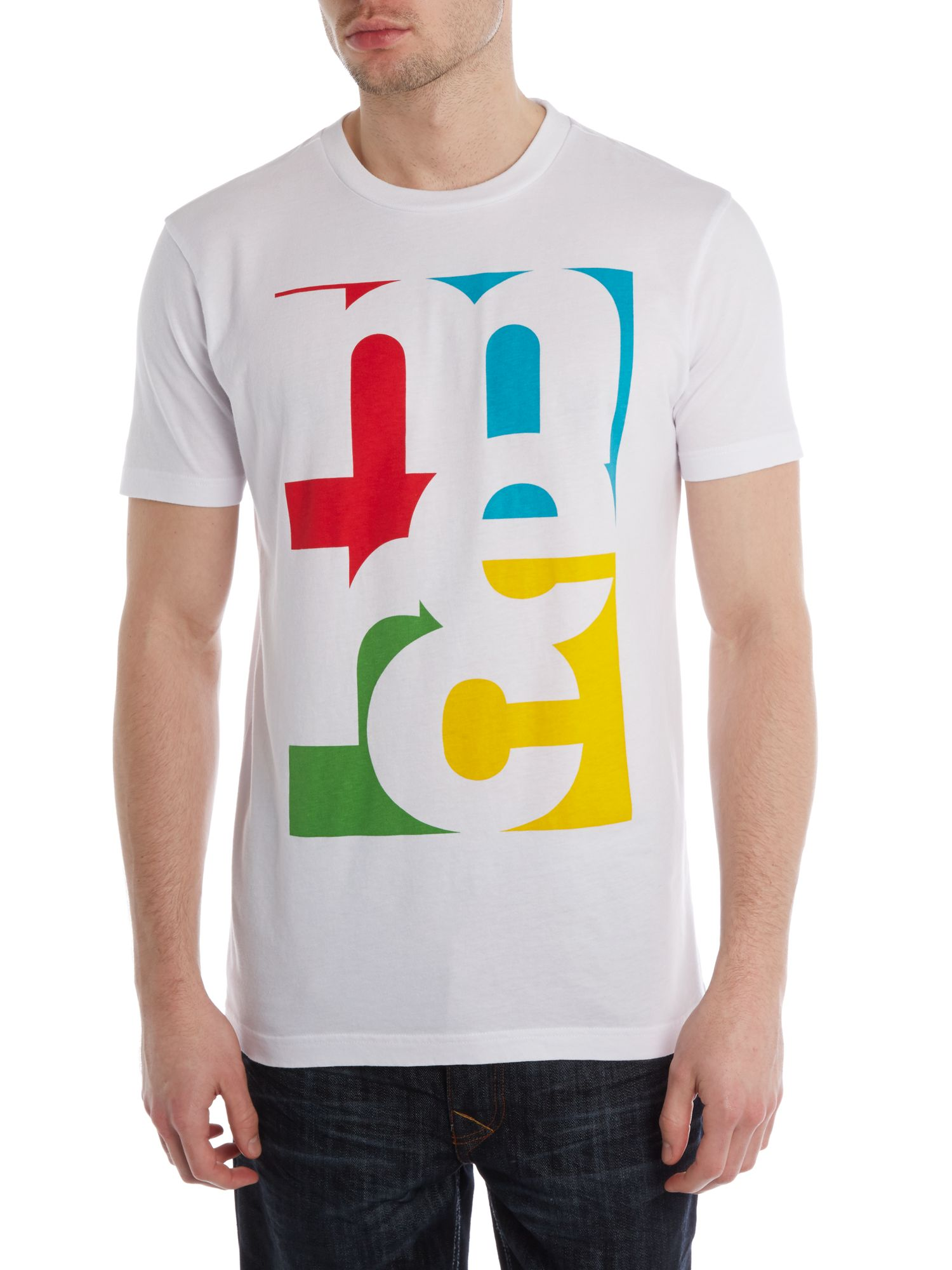 Pop art print t-shirt