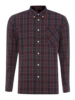 Long Sleeve Tartan Check Shirt
