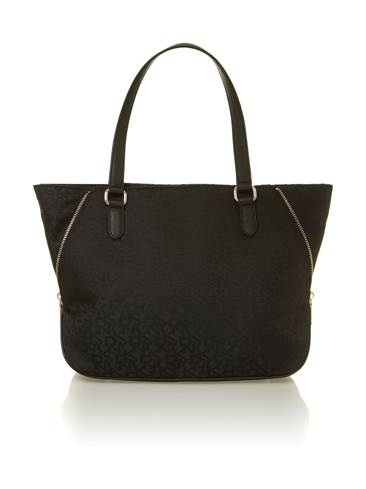 Saffiano black tote bag