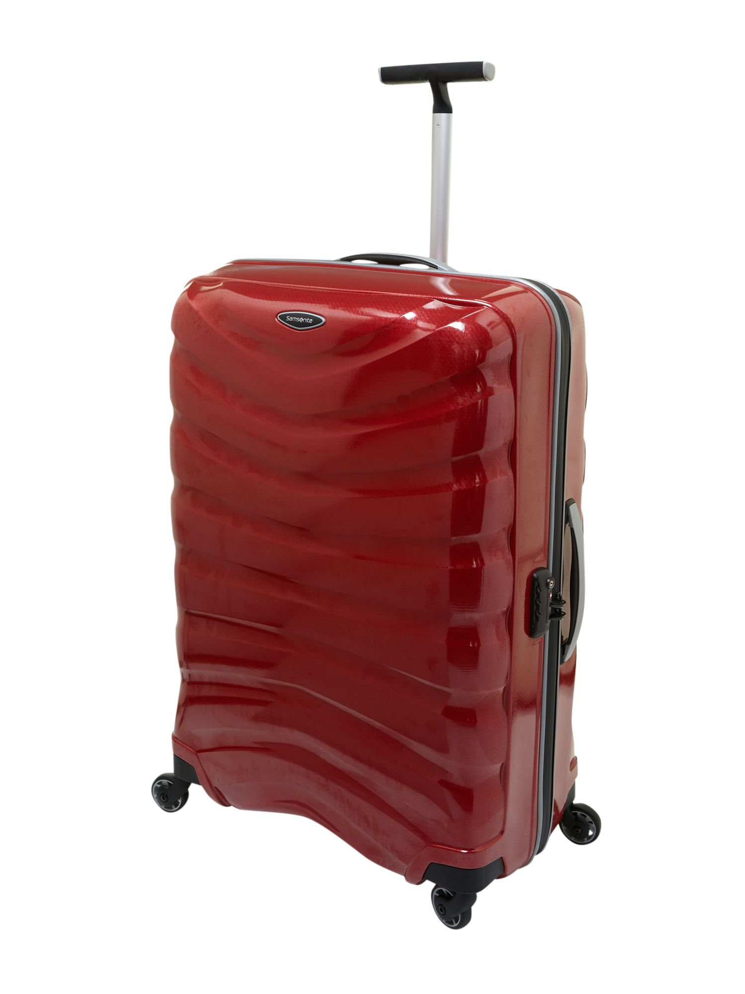 Firelite red 81cm 4 Wheel Case