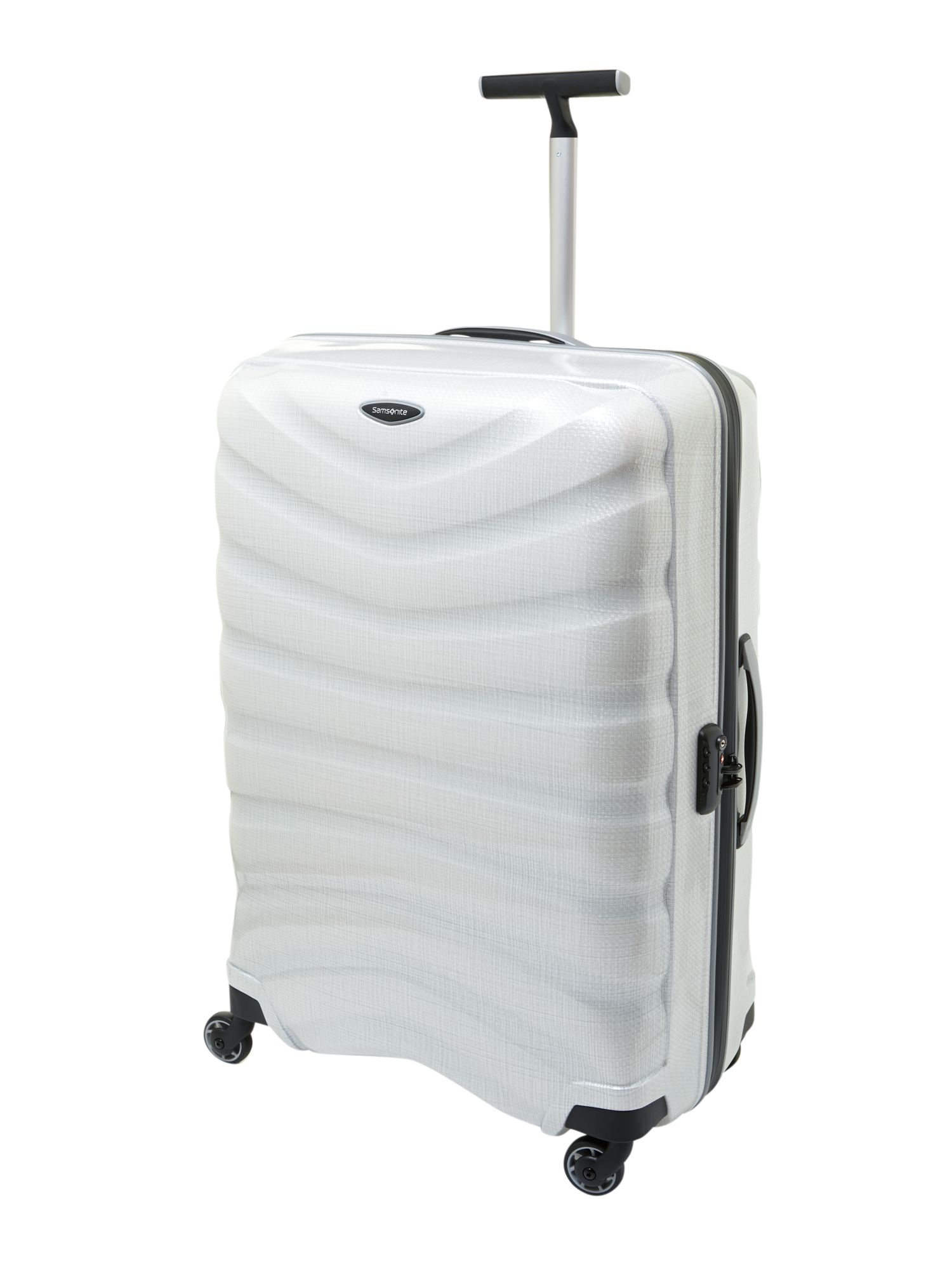 Firelite white 81cm 4 Wheel Case
