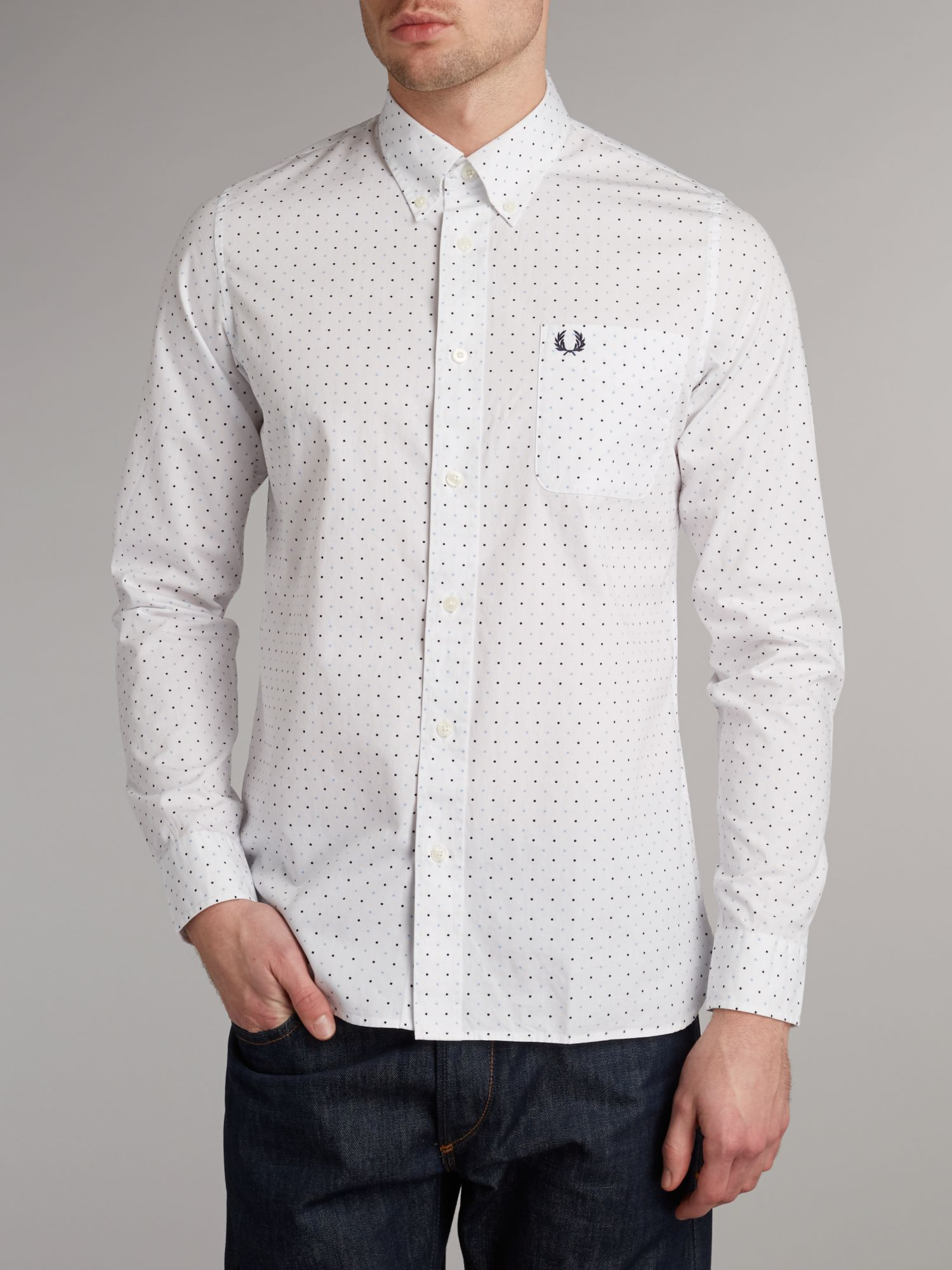 Long sleeve spot shirt