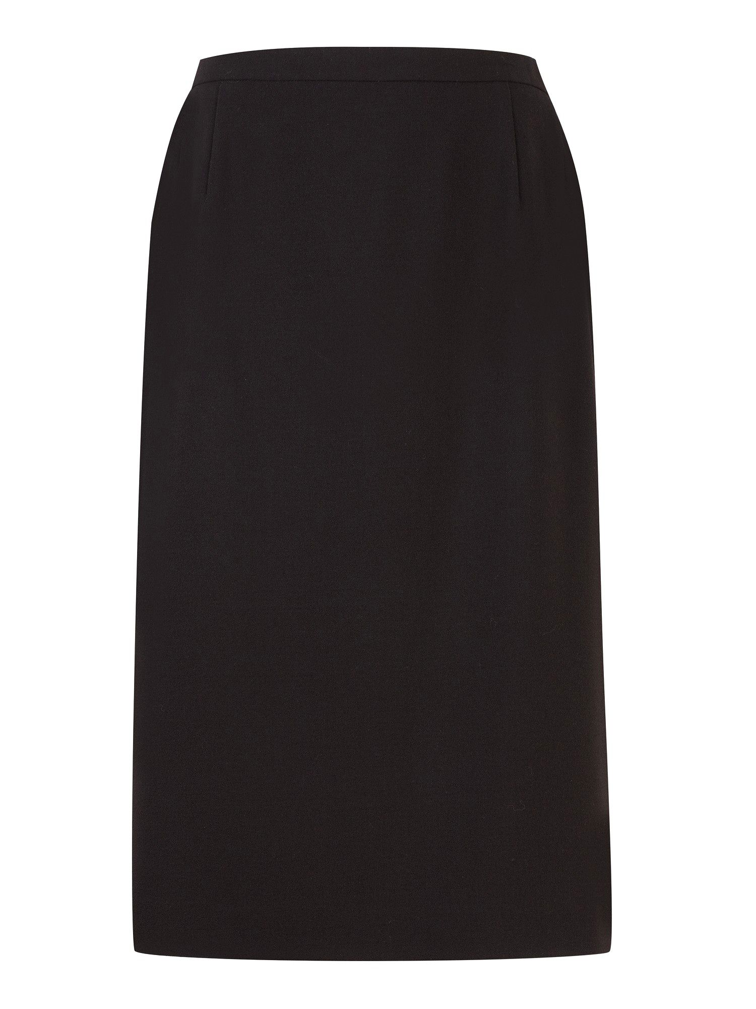 Moss crepe pencil skirt