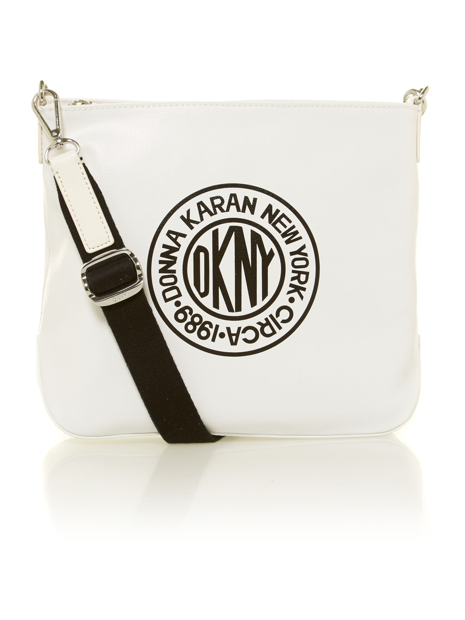 Multi canvas logo crossbody bag