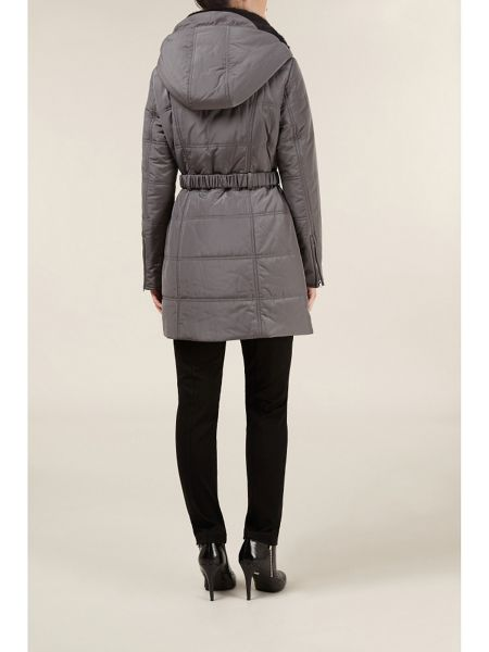 Planet Mid-length quilted coat