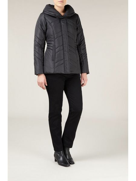 Dash The shawl collar quilted short coat