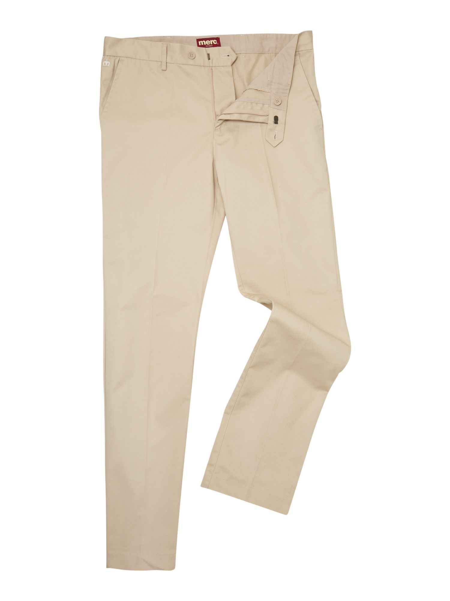 Press side pocket trousers