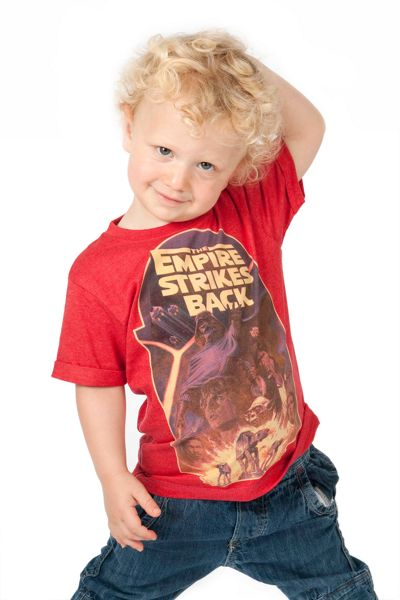Fabric Flavours Boys Star Wars T-Shirt