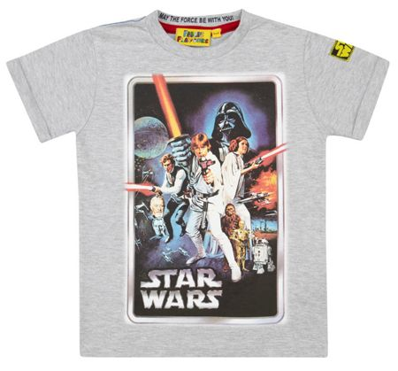 Boys Star Wars A New Hope T-shirt