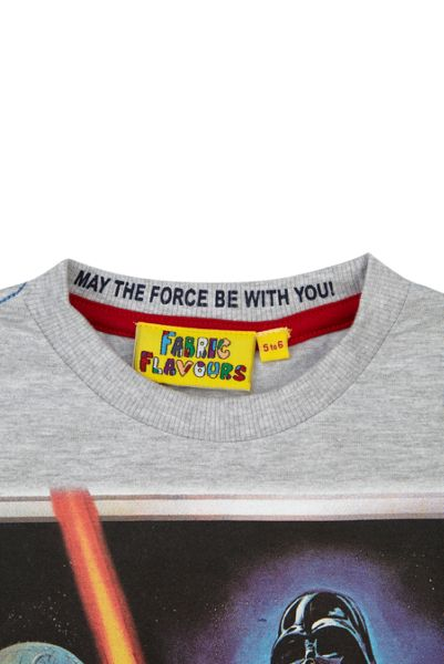 Fabric Flavours Boys Star Wars A New Hope T-shirt