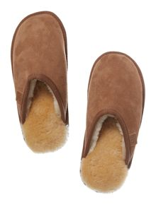 Shaftsbury sheepskin mule