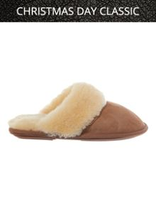 Duchess sheepskin mule