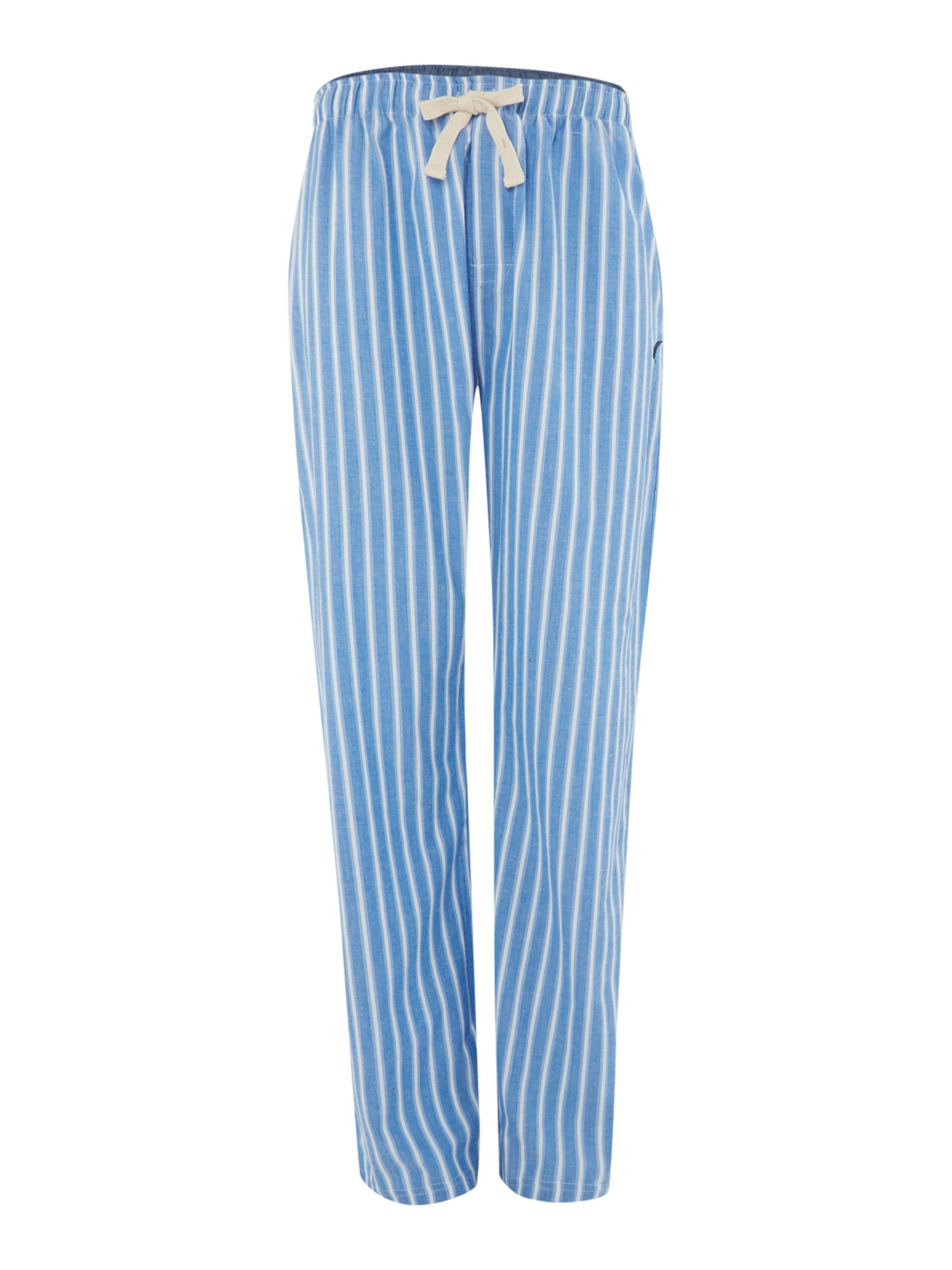 Chambray stripe pyjama pant