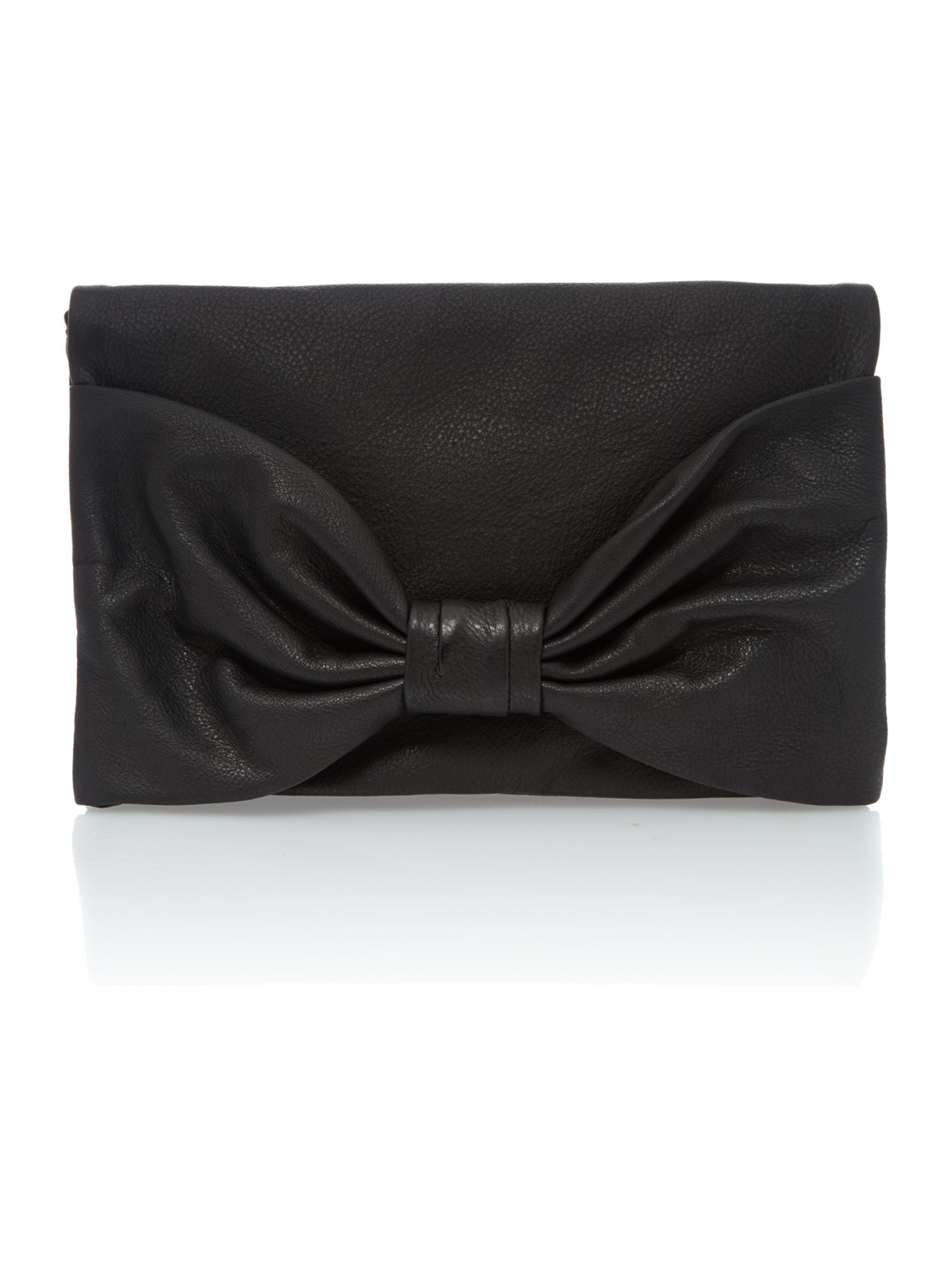 Small shoulder black cross body bag