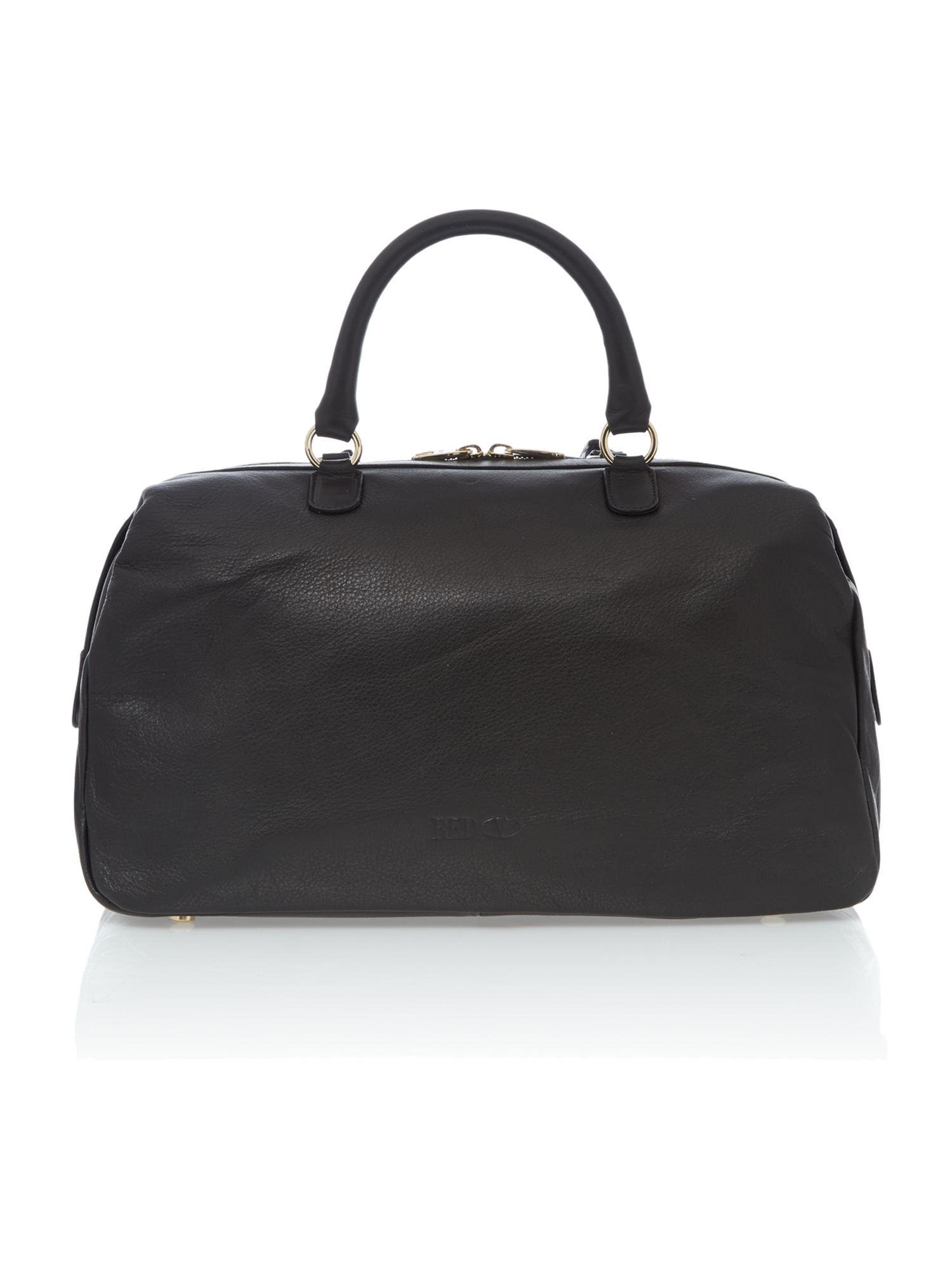 Duffel black bowling bag