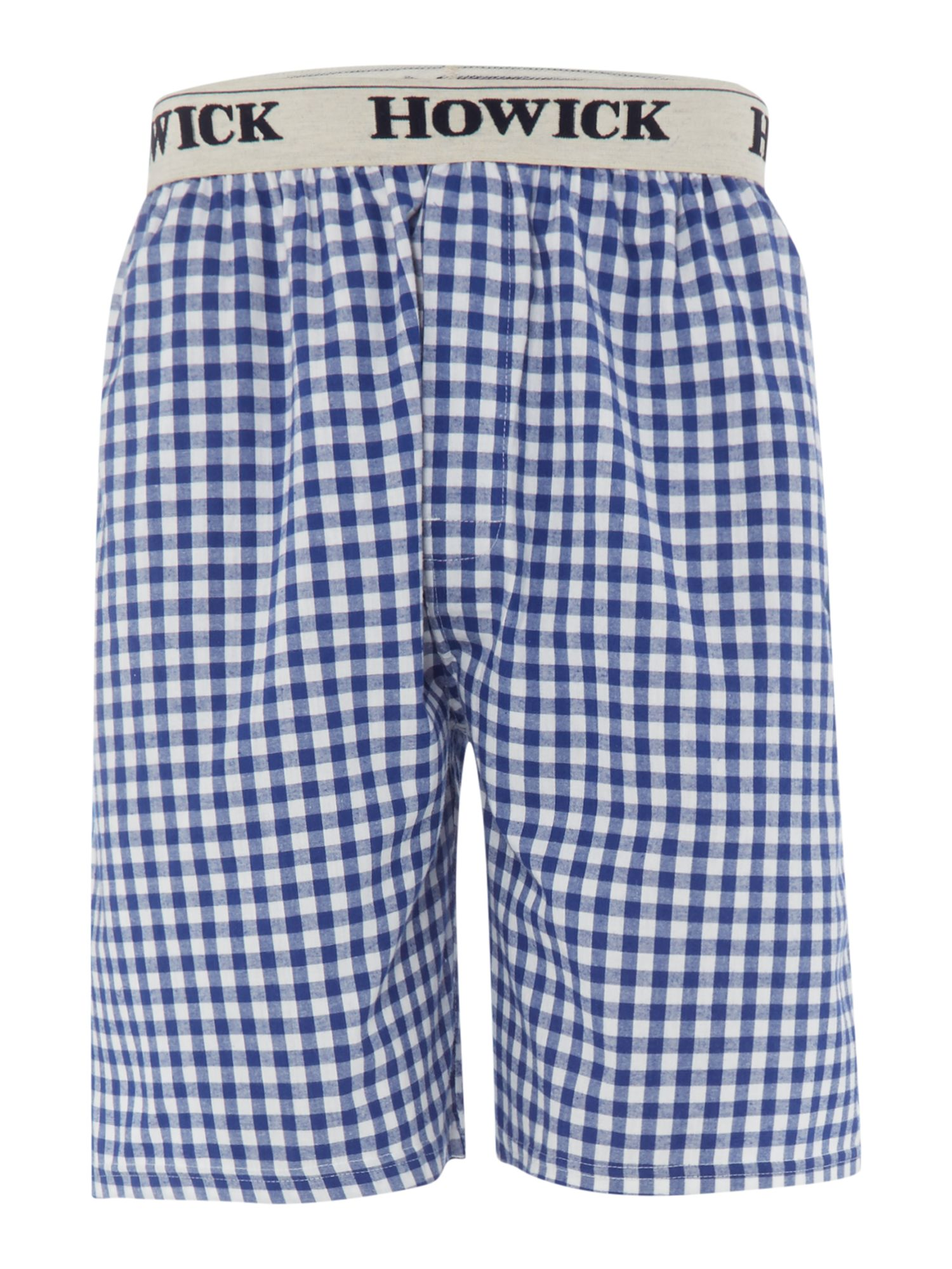 Gingham check sleep short