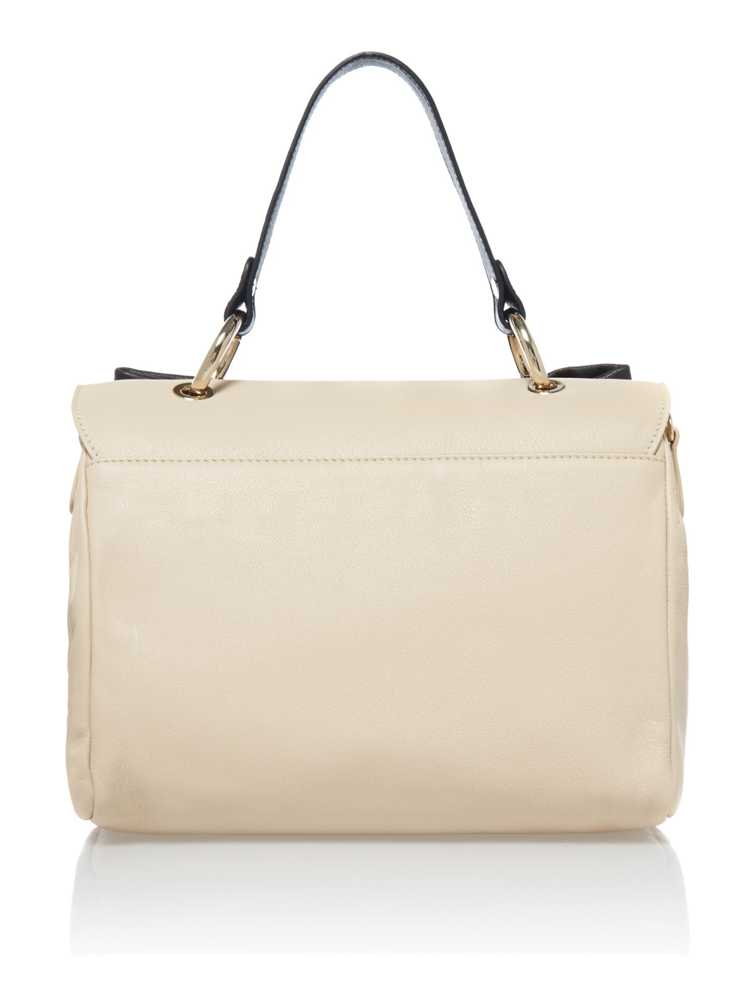 Handle neutral satchel bag