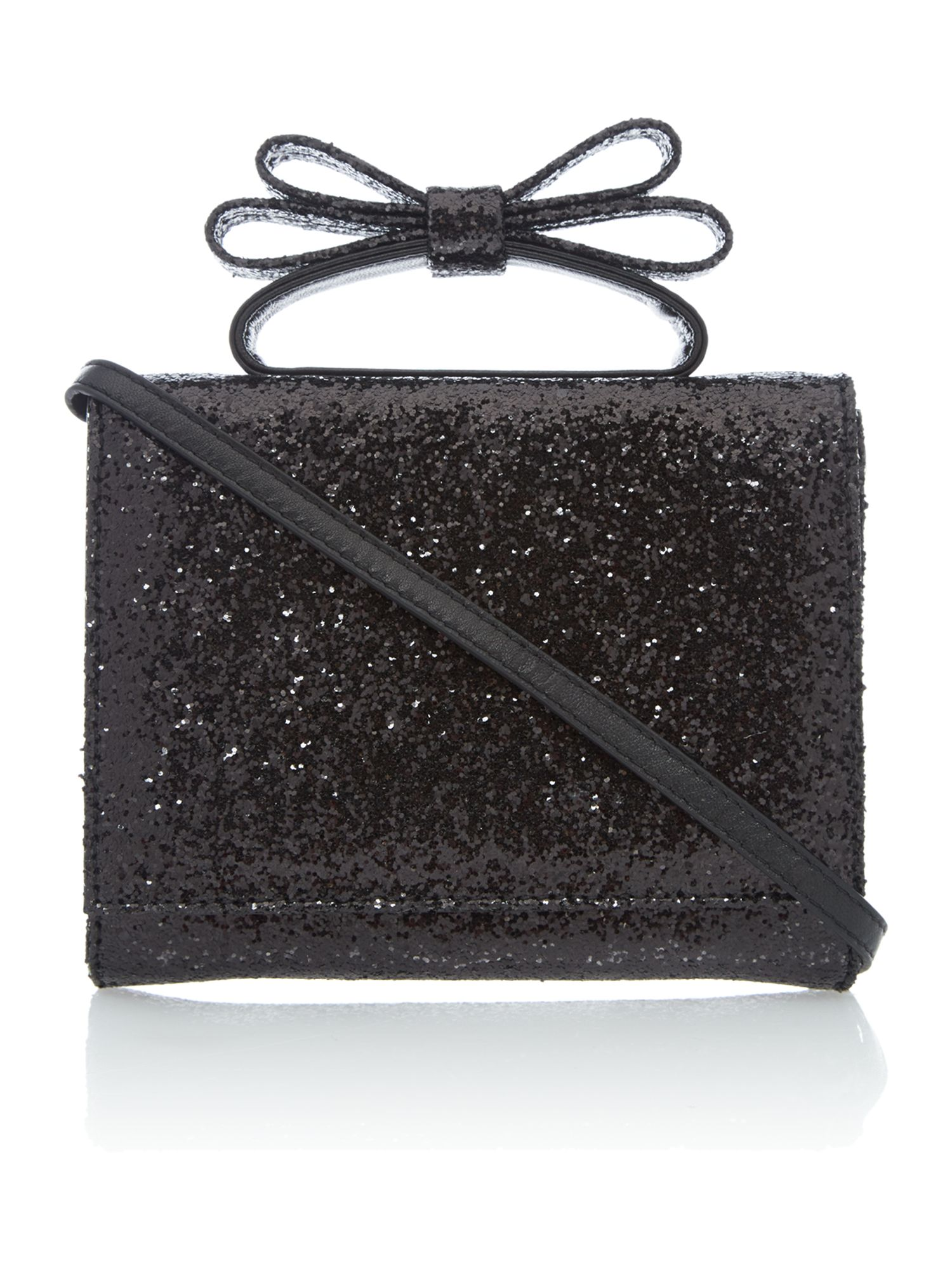 Mini shoulder black crossbody bag