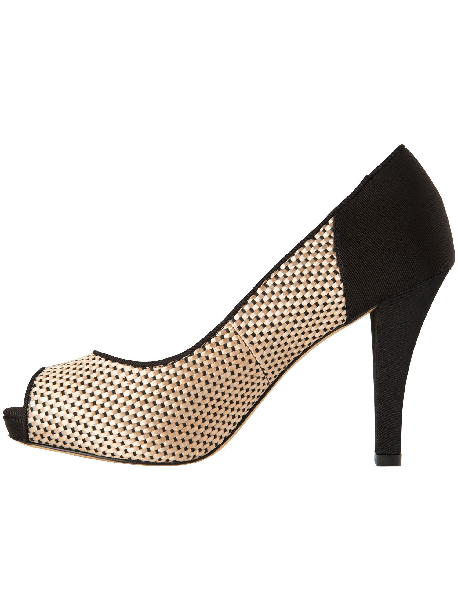 Lucia weave high heel shoes