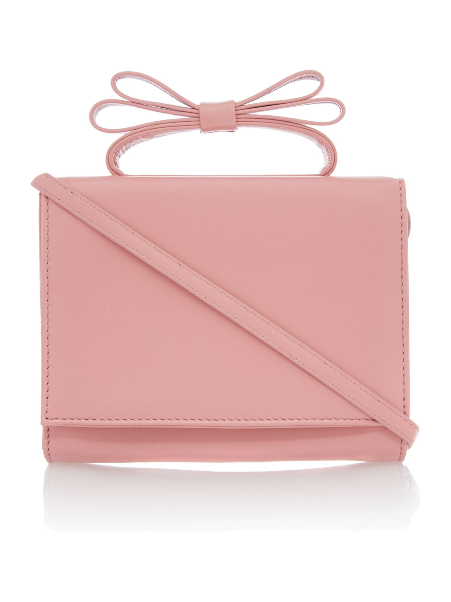 Minaudiere pink small clutch bag