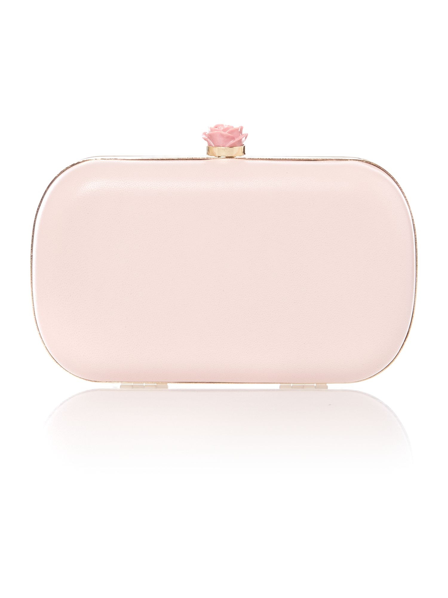 Minaudiere pink cross body bag