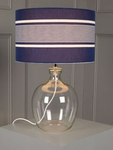 Nautical Stripe Table Lamp