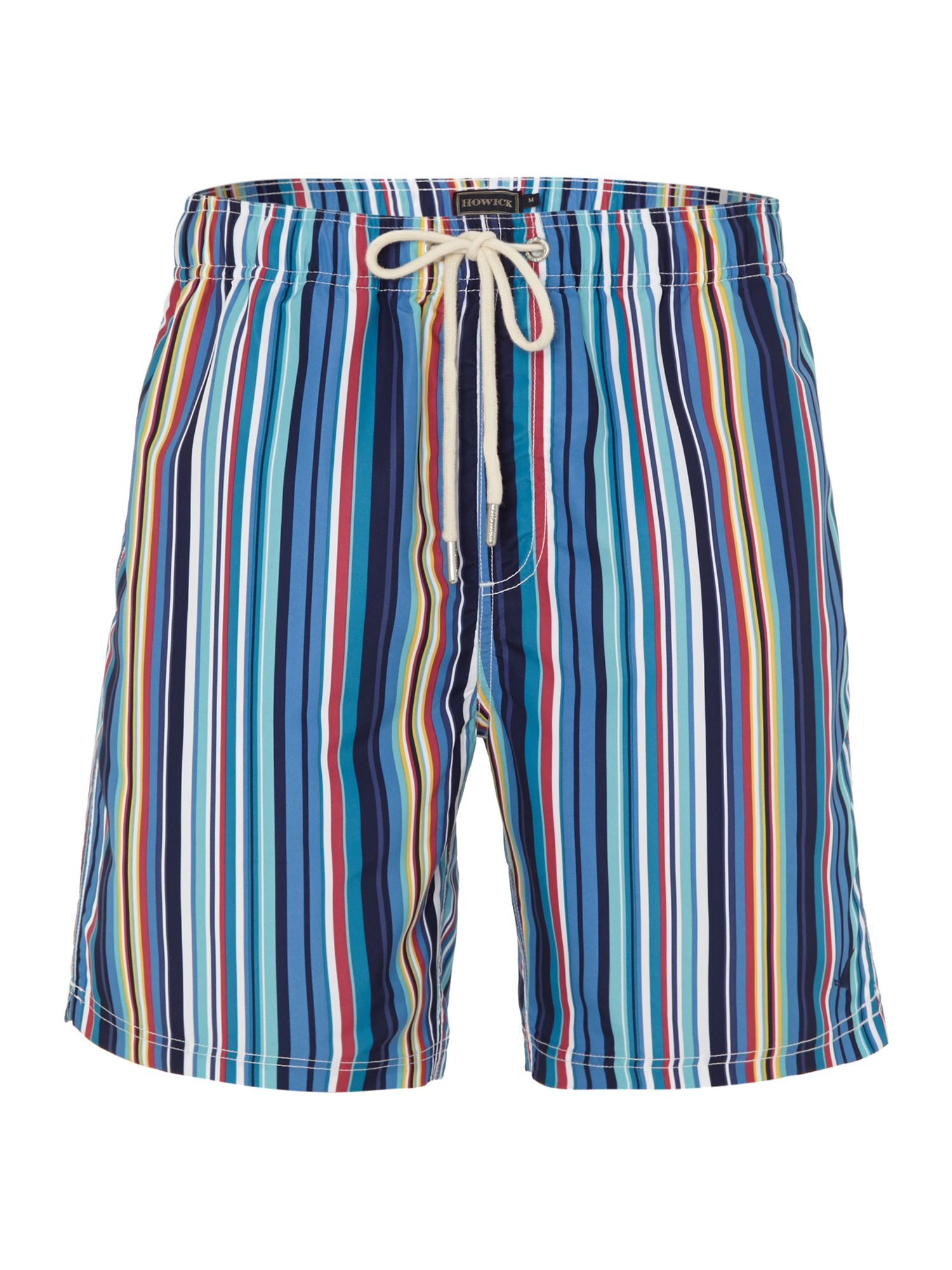 Multi stripe swim shorts