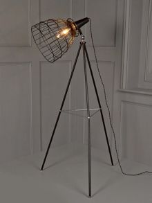 Cage tripod Floor Lamp