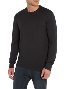 Crew neck seam detail knitwear