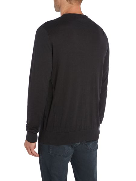 Religion Crew neck seam detail knitwear