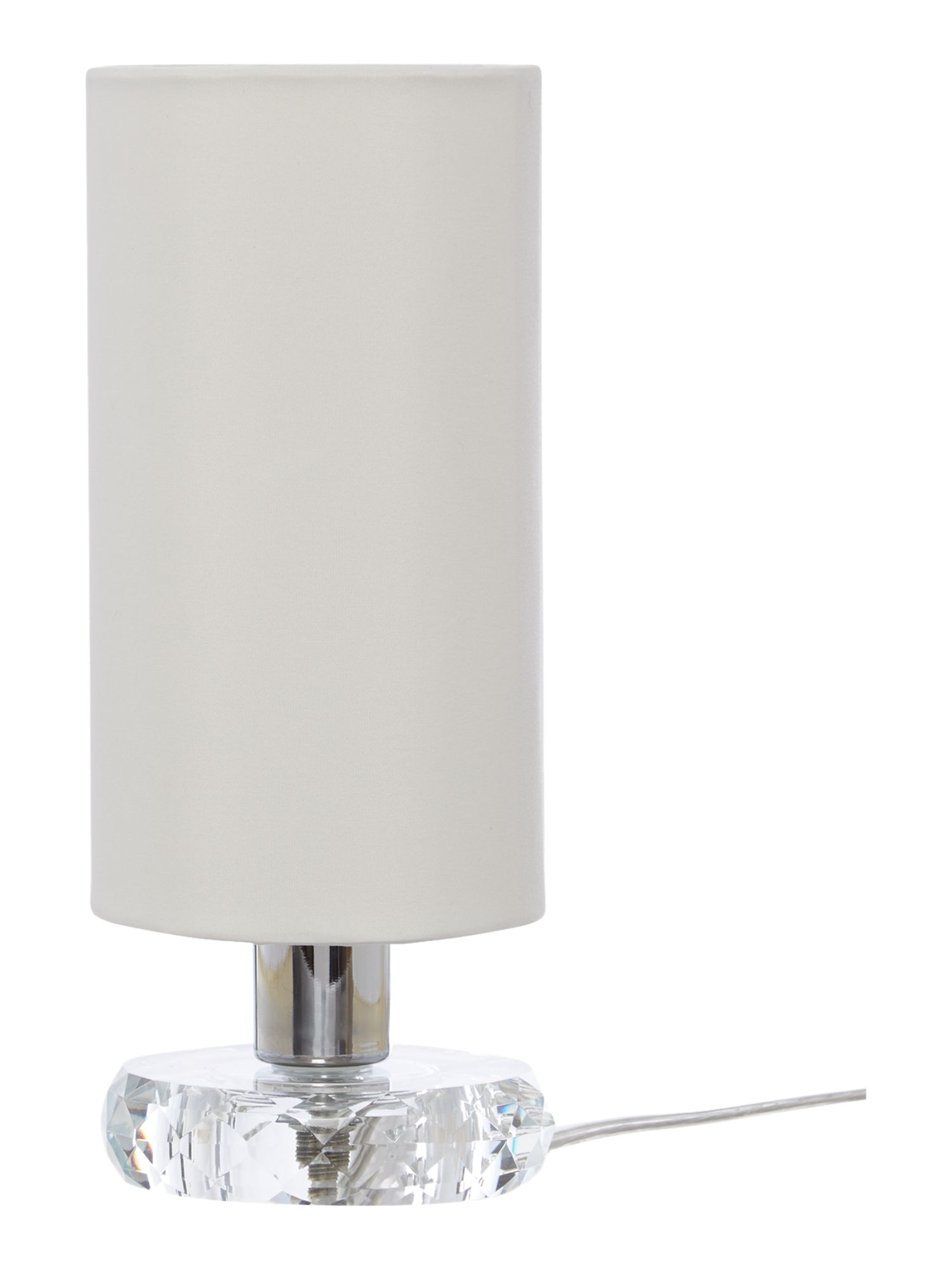 Olivia Clear Crystal Base Table Lamp
