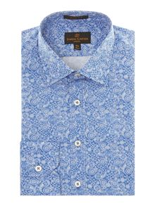 Paisley slim fit shirt