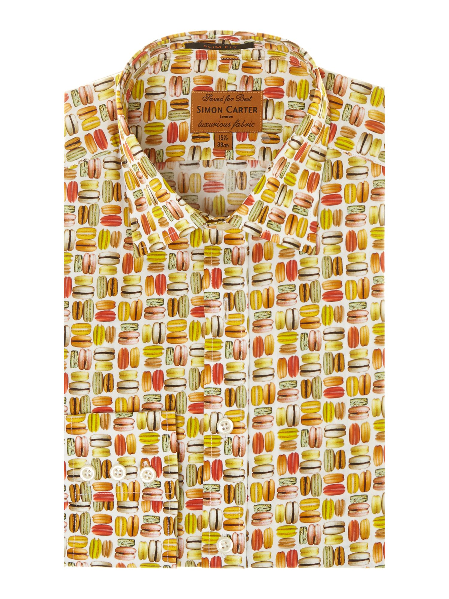 Macaroons slim fit shirt