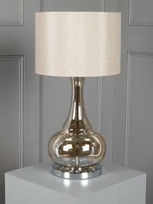 Aurelia glass table lamp - champagne