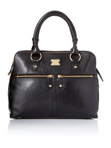 Pippa black tote bag